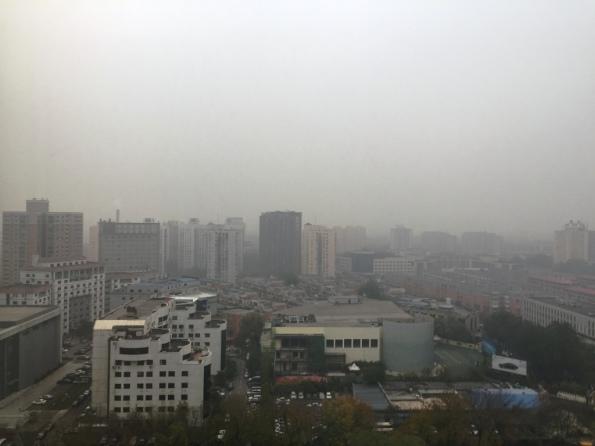 Beijing in the morning