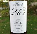 Block 2013 Merlot