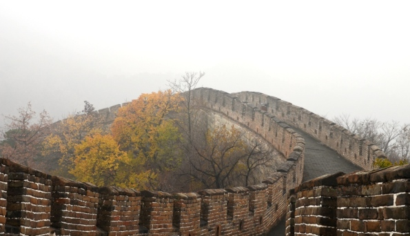 Probably the best shot of the Great Wall I could take