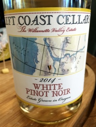 Left Coast Cellars White Pinot Noir