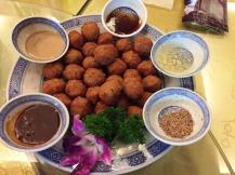 Meatballs - were very good
