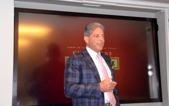 Bill Terlato opens the event