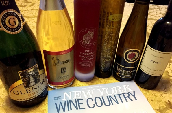 Finger Lakes Wines Sparkling and Dessert