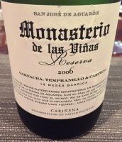 Monasterio de las Vinas