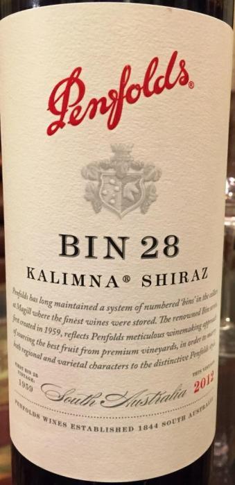 Penfolds Bin 28 Kalimna Shiraz