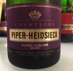 Piper-Heidsieck Cuvee Sublime