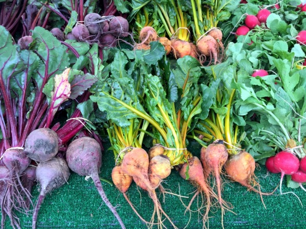 Lots of beets of all colors