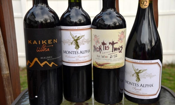 Montes Alpha wines