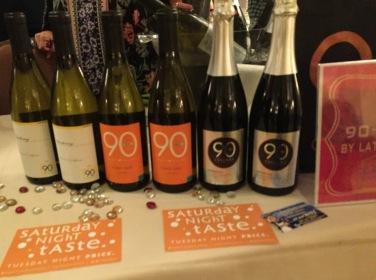90+ wines