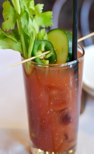 Bloody Mary at Noir Stamford