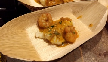 David's Soundview Catering Shrimp and Grits