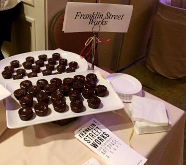Franklin Street Works Salted Chocolate Ganache Cakelets