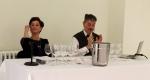 "Marco Sabellico Senior Editor Gambero Rosso, Eleonora Guerini, Curator of the guide ""The Wines of Italy"" by Gambero Rosso"