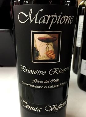 Marpione Primitivo reserva