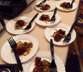 Olio restaurant Korean BBQ Pork Belly