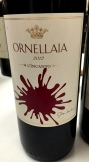 Ornellaia 2012 Artist Label