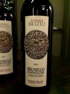 Podere Brizio Brunello di Montalcino 2001