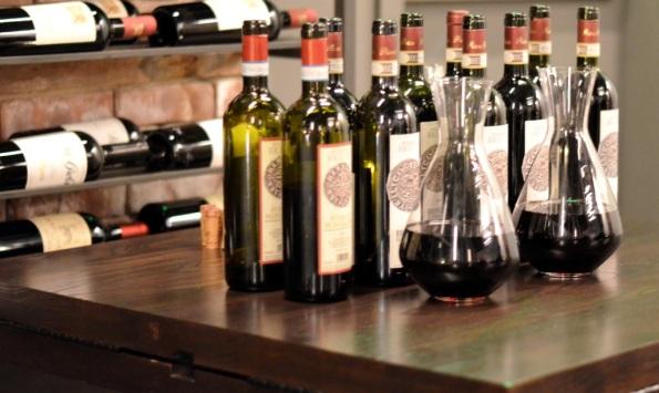 Podere Brizio Wines Decanter