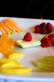 Selection of Fruit at Noir Stamford