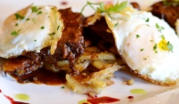 Short Rib Hash at Noir Stamford