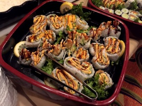 ShopRite Sushi Tray