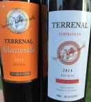 Terrenal Tempranillo and Seleccionado