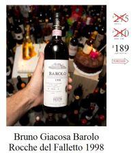 Bruno Giacosa Barolo Rocche del Falletto