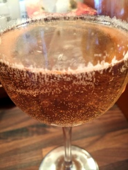 Citra Rosé in the glass