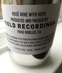 Field Recordings Citra Rosé can sleeve [label]
