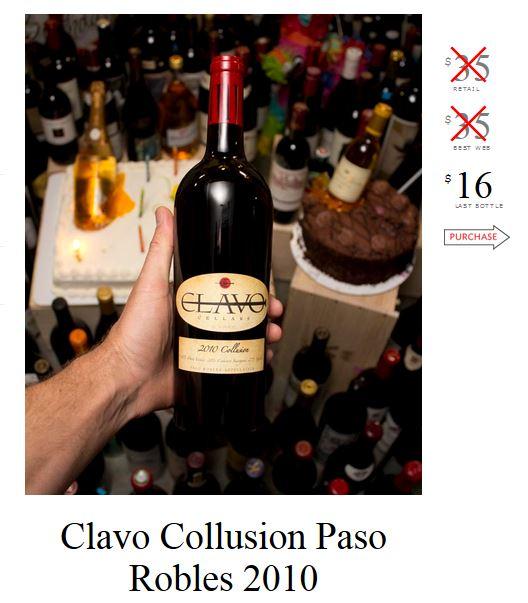 Clavo Collusion Paso Robles