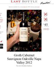 Groth Cabernet Sauvignon