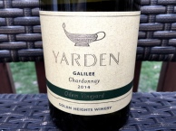 Yarden Chardonnay Golan Heights winery