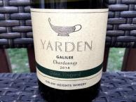 Yarden Chardonnay Golan Heights winery