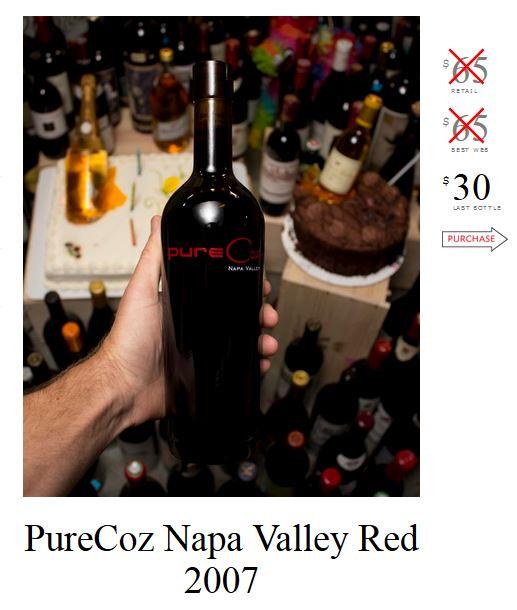 PureCoz Napa Valley Red