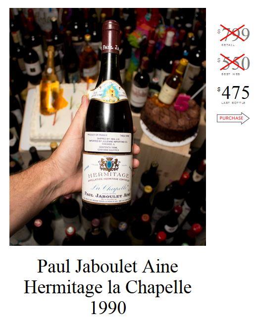 Paul Jaboulet Aine Hermitage La Chapelle