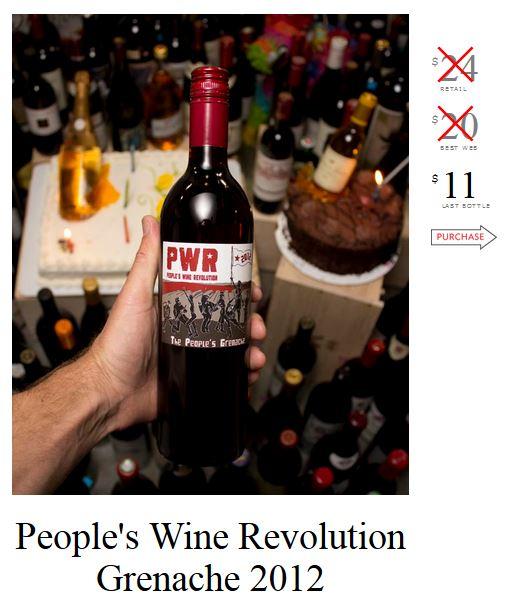 People's Wine Revolution Grenache