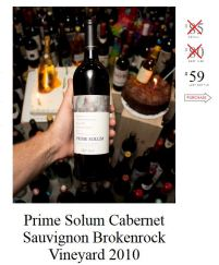 Prime Solum Cabernet Sauvignon