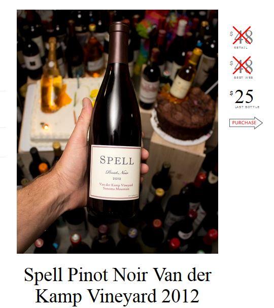 Spell Pinot Noir