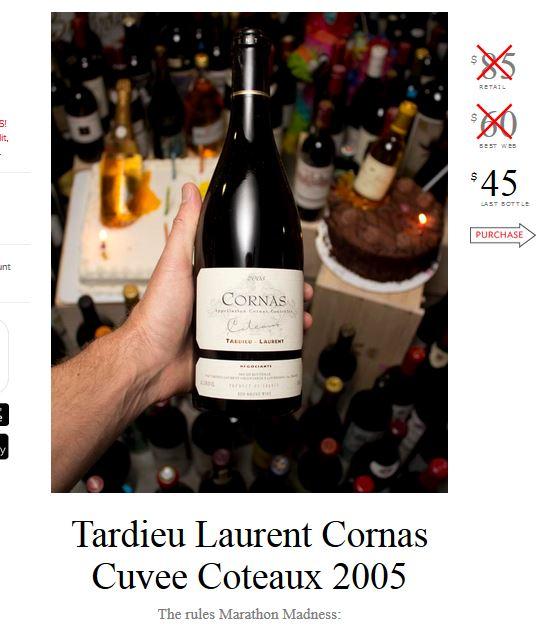 Tardieu Laurent Cornas