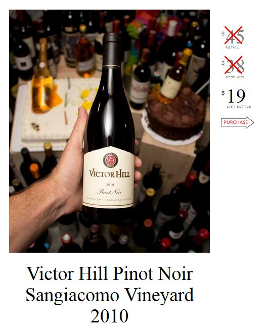 Victor Hill Pinot Noir