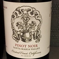 Caretaker Wines Pinot Noir Santa Maria Valley