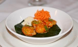 Coconut Pepper Shrimp at Tawa Restaurant