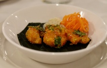 Coconut Pepper Shrimp at Tawa Restaurant