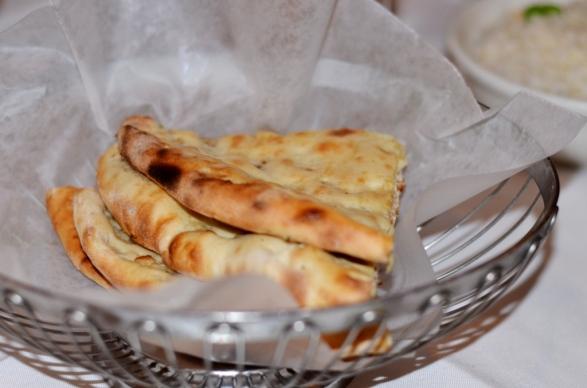 Garlic Naan at Tawa Restaurant