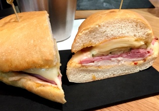 Cuban sandwich at SF Uncork'd
