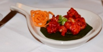 Indo Chinese Lasuni Gobi at Tawa Restaurant