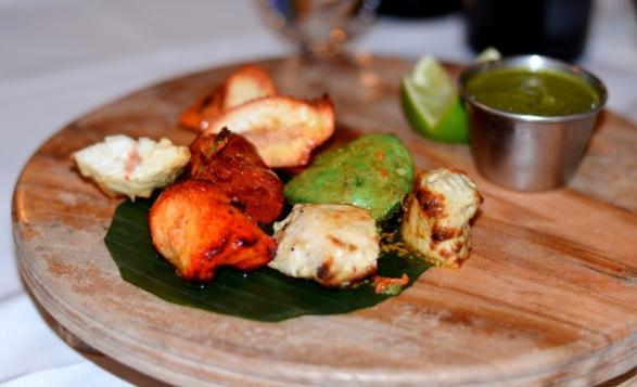 Kebab Platter at Tawa Restaurant