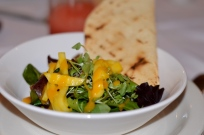 Signature Tropical Mango Salad at Tawa Restaurant
