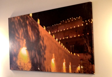 Wall decor at Tawa