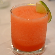 Watermelow Ginger Margarita at Tawa Restaurant